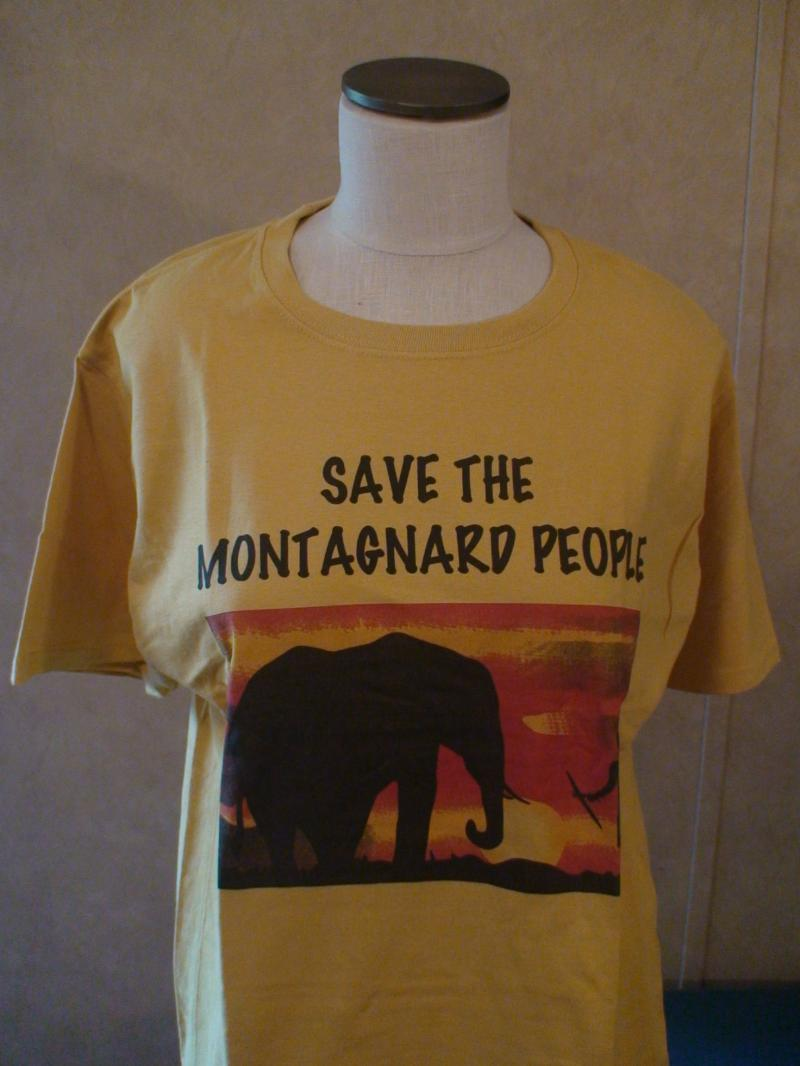 Montagnards T Shirt Yellow - 2XLarge